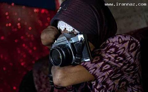 عکاس معروف دنیا که بدون دست عکاسی می کند