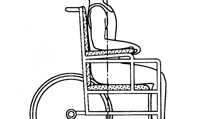 Standard Self Propelled Wheelc Standard Wheelchair With Rear  05